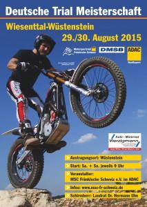 Deutsche Trial 2015 - Plakat