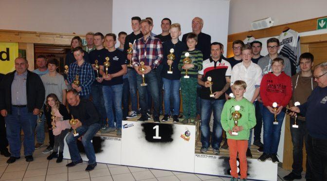 Jahressiegerehrung Jura-Trial-Pokal 2017