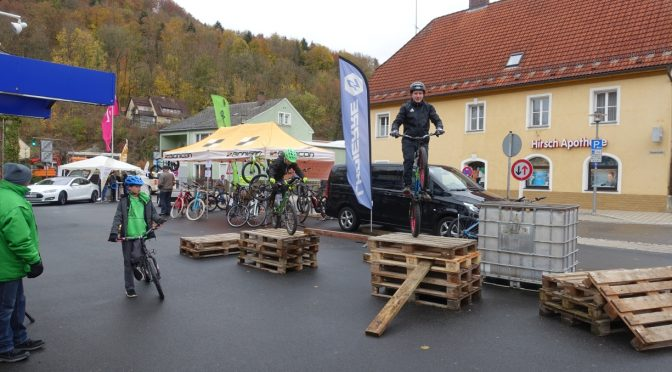 Fahrrad-Trial Abteilung in Pegnitz