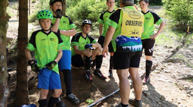Saisonauftakt zum Jura-Trial-Pokal im Fahrrad-Trial