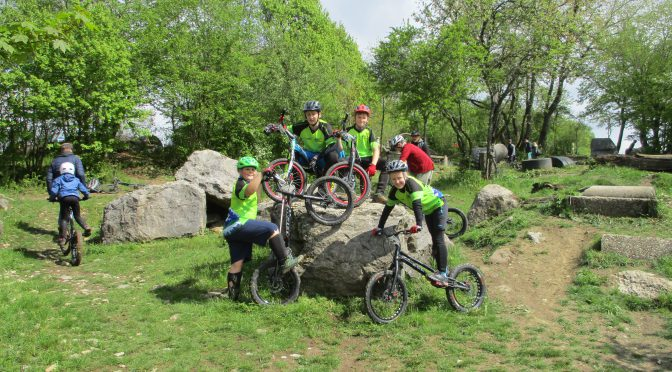 msc fränkische Schweiz erfolgreich bei den deutschen Meisterschaften im Fahrradtrial