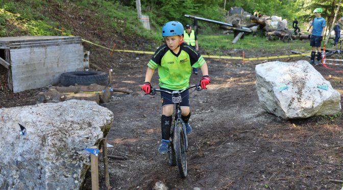 1. Platz in sichtweite beim Fahrrad-trial in Kiefersfelden