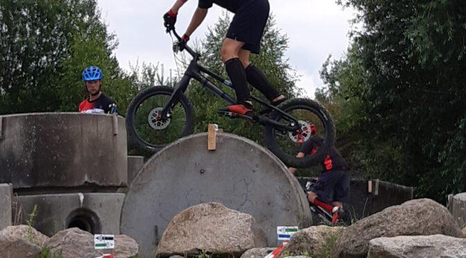 Deutsche Meisterschaft im Fahrrad-Trial am 11.07.2021 in Lüneburg
