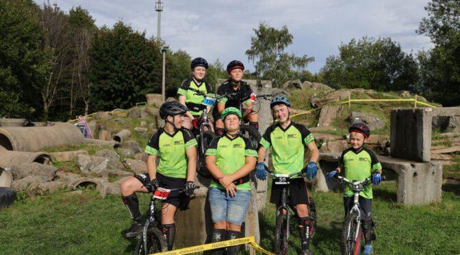 Erster Wettkampf zur Ostdeutschen Meisterschaft im Fahrrad-Trial